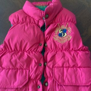 Ralph Lauren Girls Reversible Vest Sz 5/6